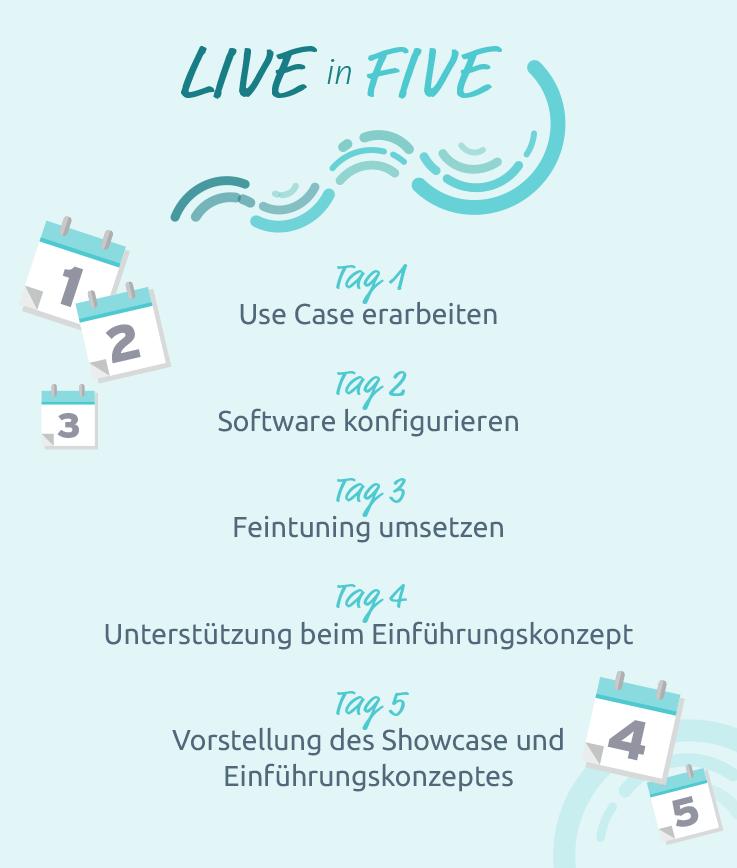 Live in Five von ThinkOwl