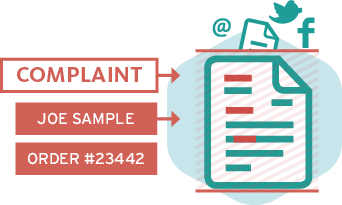 Classify and route emails